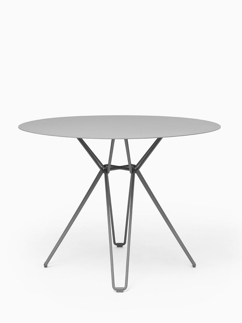 Tio Dining Table – Stone Grey – Ø100