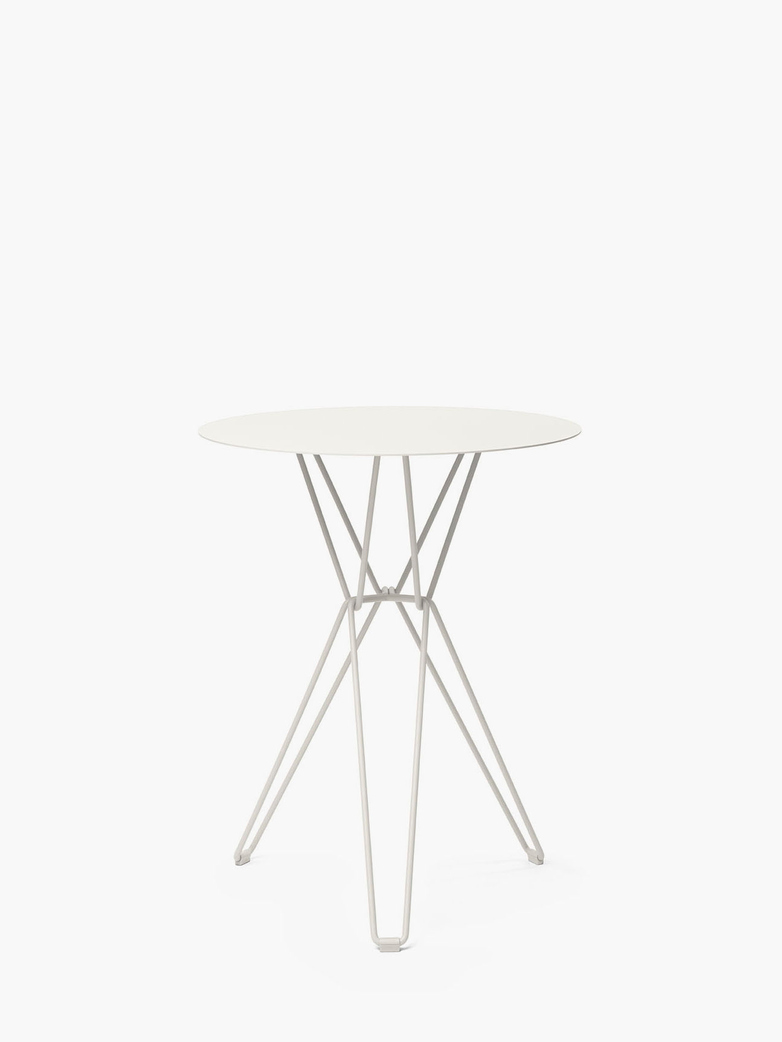 Tio Bar Table – White – Ø60