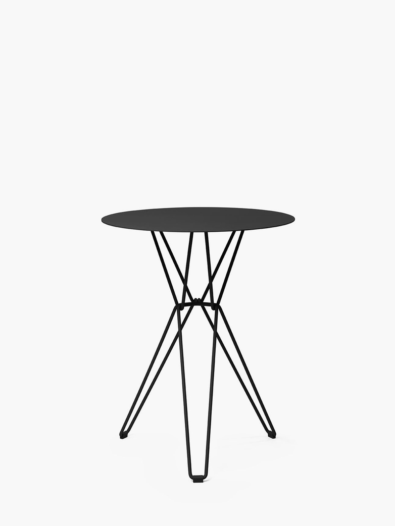 Tio Bar Table – Black – Ø60