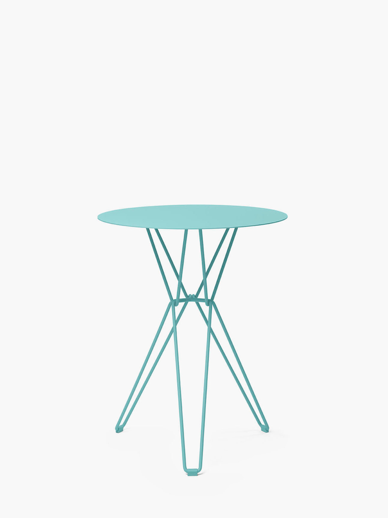 Tio Bar Table – Pastel Turquoise – Ø60