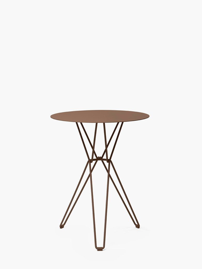 Tio Bar Table – Pale Brown – Ø60
