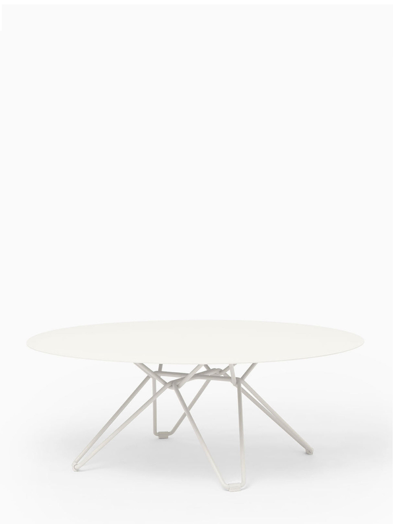 Tio Coffee Table – White – Ø100