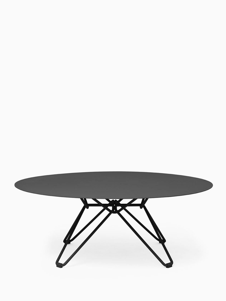 Tio Coffee Table – Black – Ø100