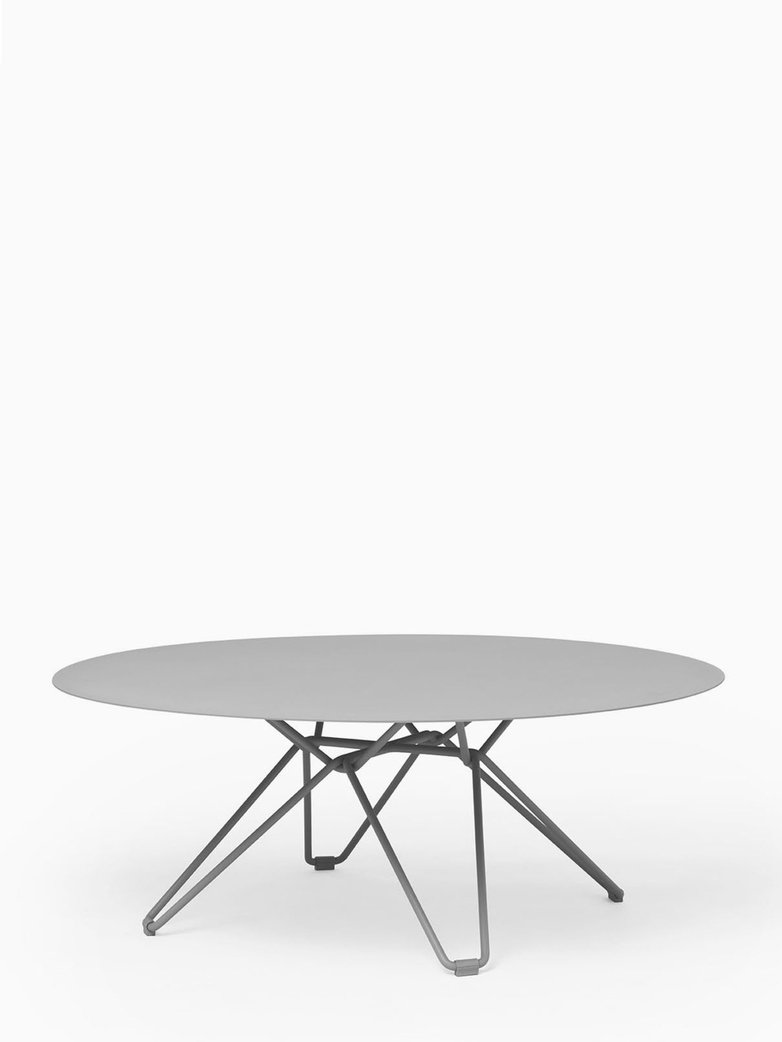 Tio Coffee Table – Stone Grey – Ø100