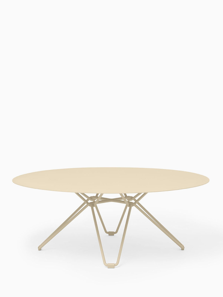 Tio Coffee Table – Ivory – Ø100