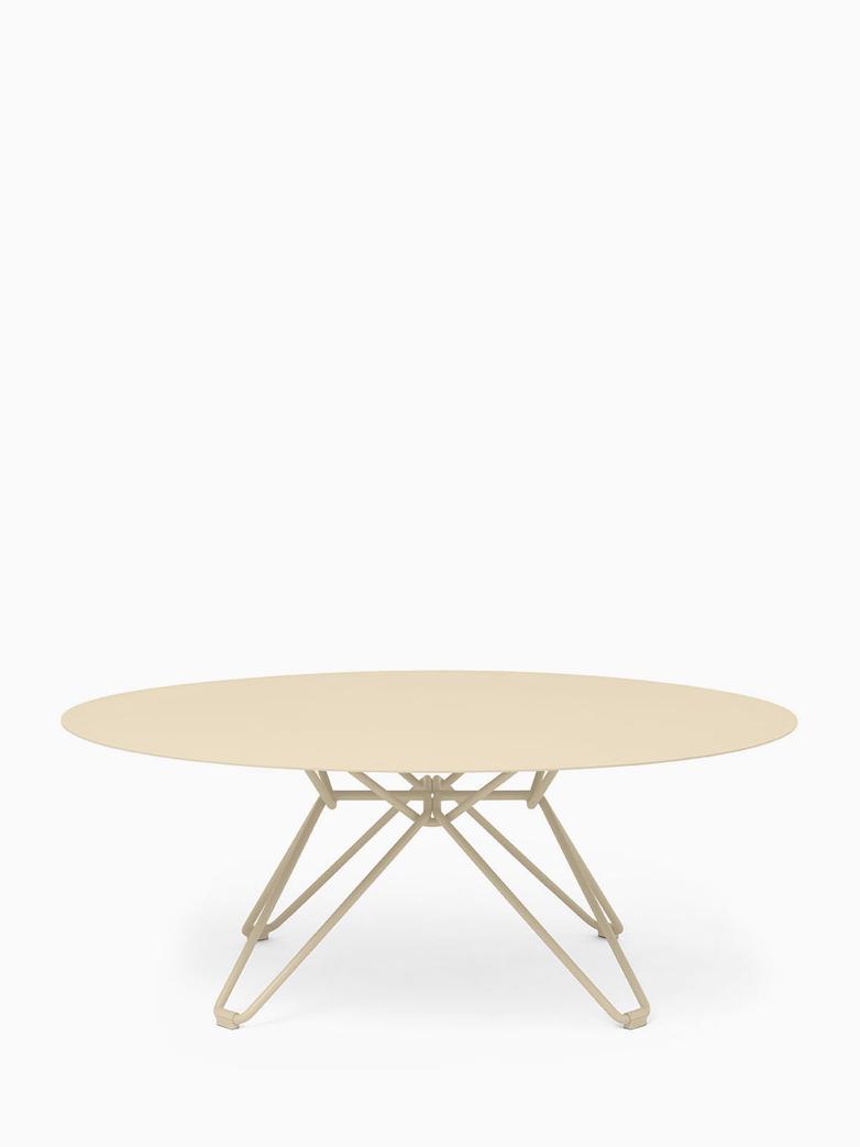 Tio Coffee Table – Ivory – Ø100