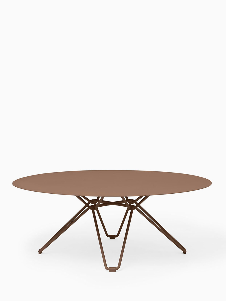 Tio Coffee Table – Pale Brown – Ø100