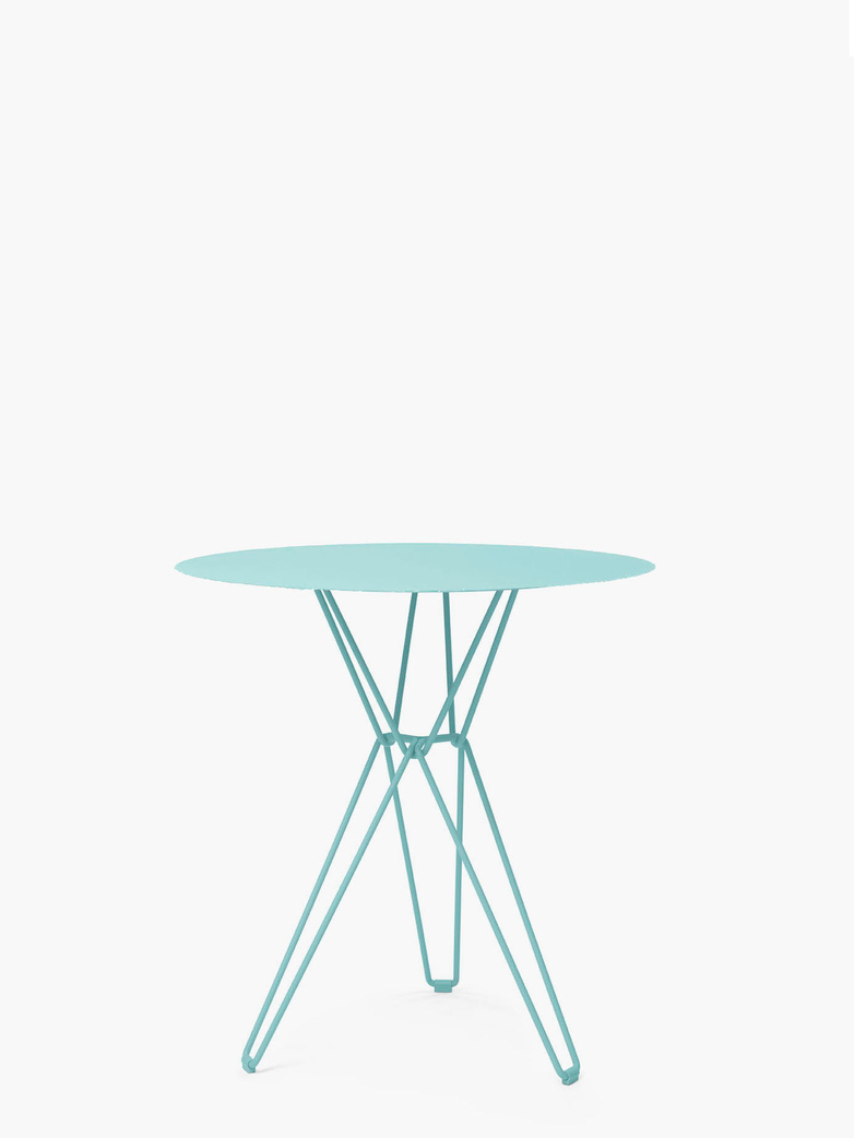Tio Bar Table – Pastel Turquoise – Ø75