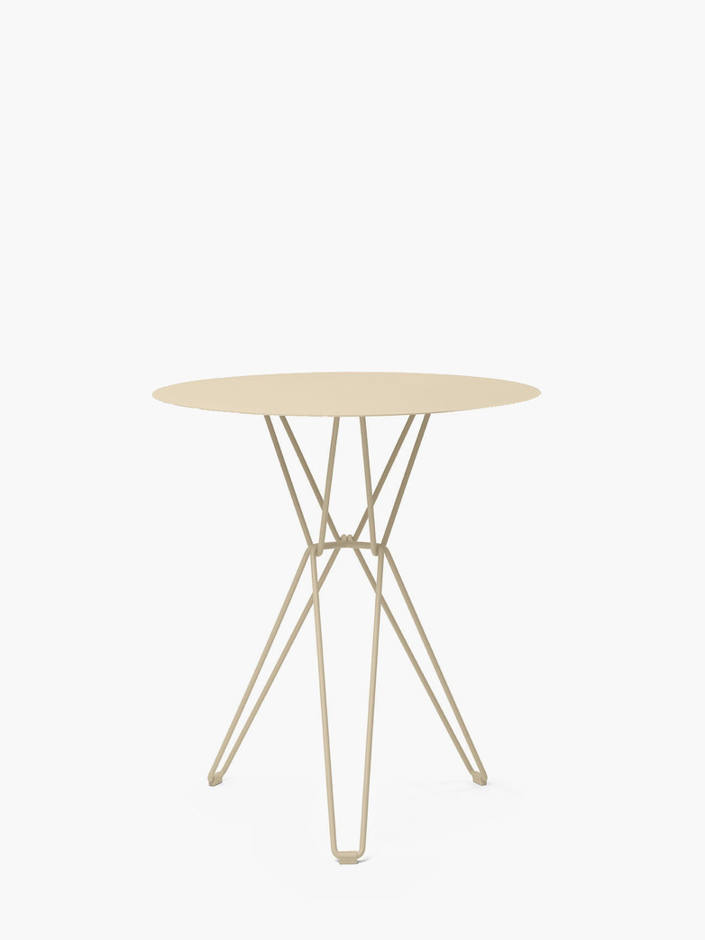 Tio Bar Table – Ivory – Ø75