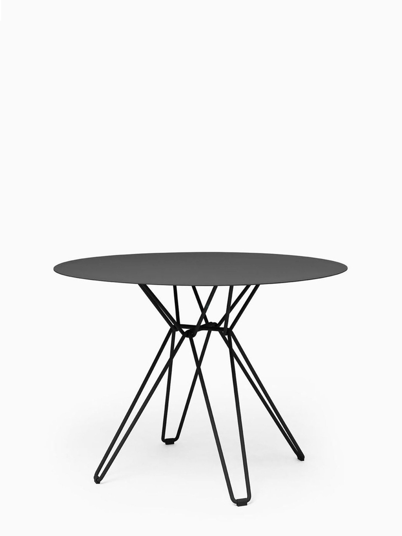 Tio Coffee Table – Black – Ø60