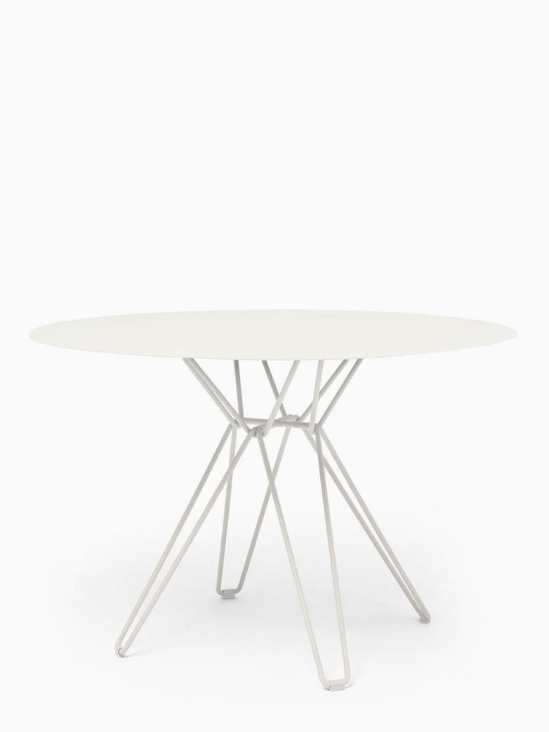 Tio Dining Table – White – Ø126