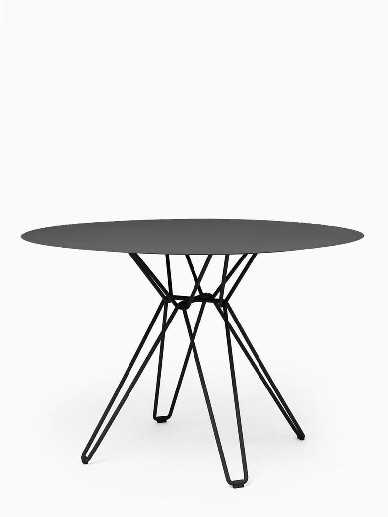 Tio Dining Table – Black – Ø126