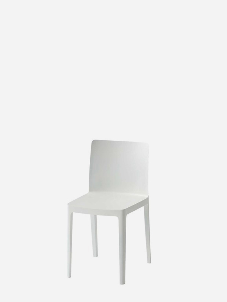 Elementaire Chair – Cream White