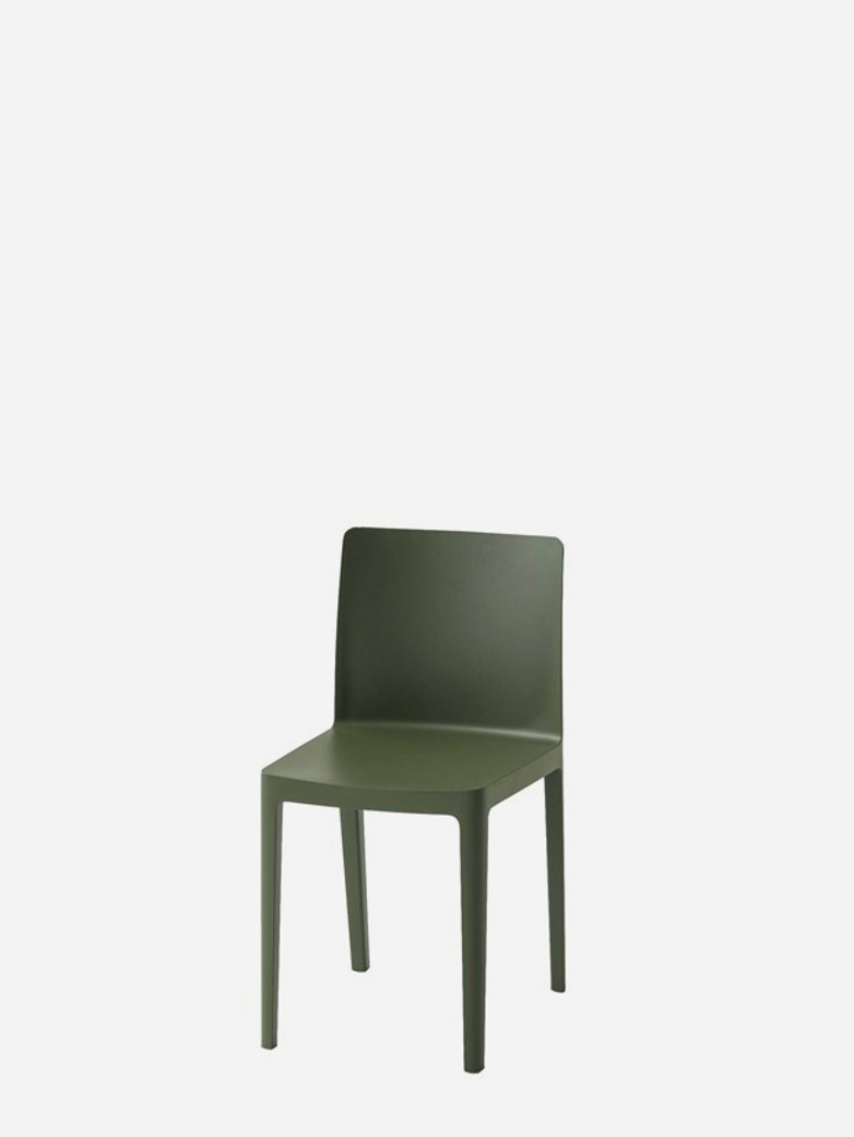 Elementaire Chair – Smoky Green