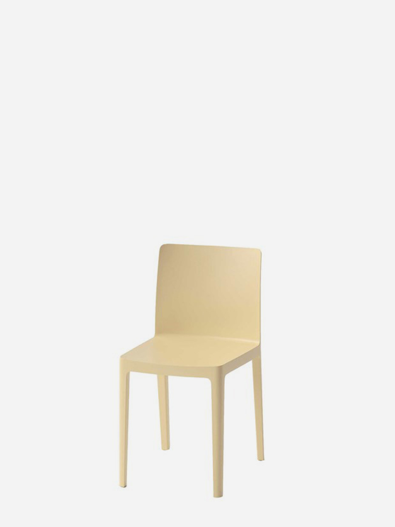 Elementaire Chair – Light Yellow
