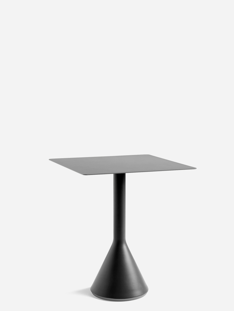 Palissade Cone Table – Antrhacite – 65 x 65
