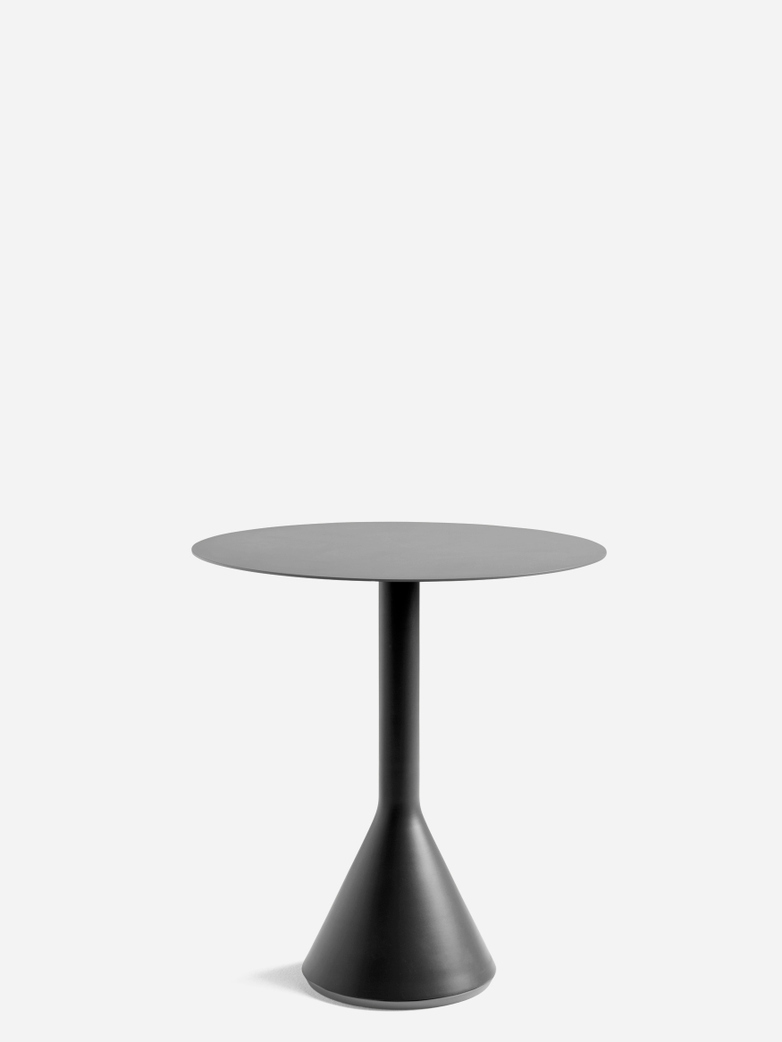 Palissade Cone Table – Antrhacite – Ø70