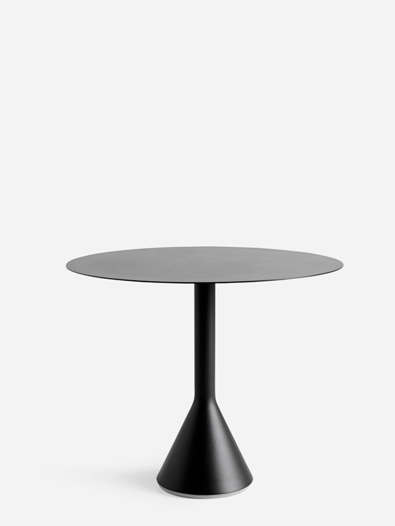 Palissade Cone Table – Antrhacite – Ø90