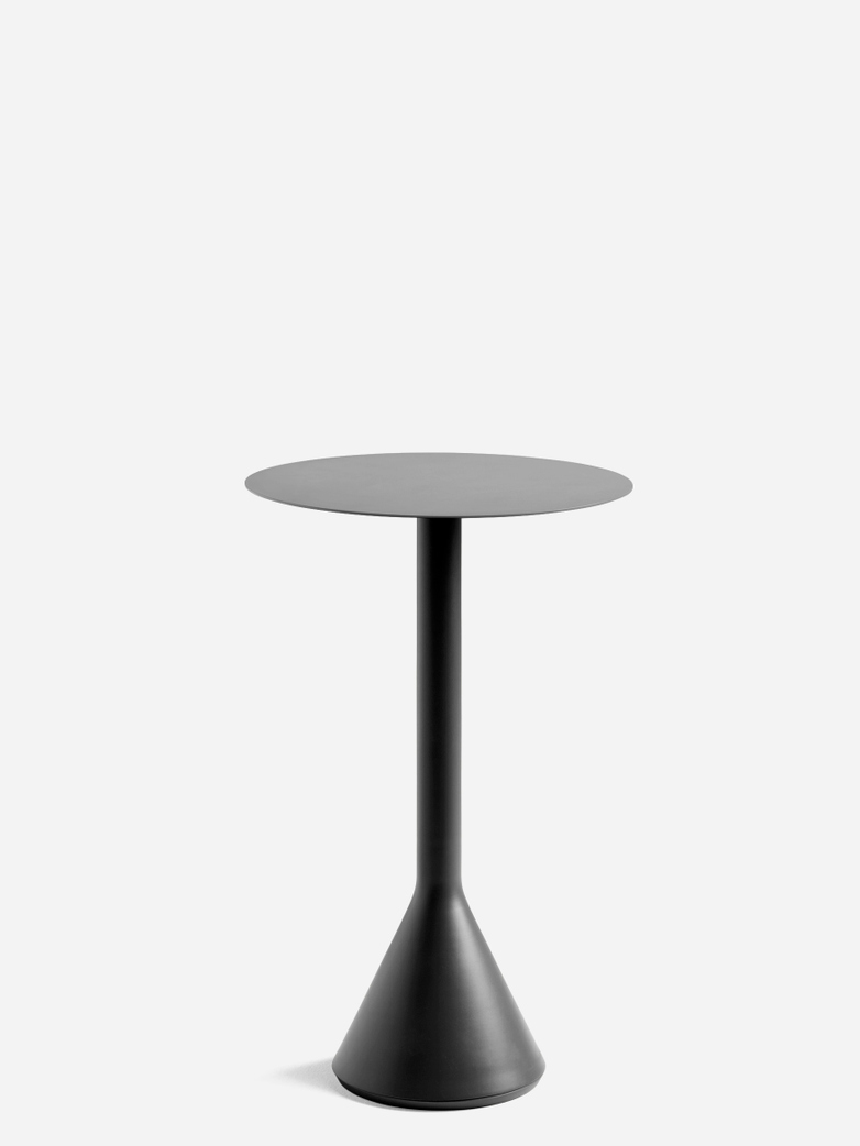 Palissade Cone Table  – Antrhacite – Ø60