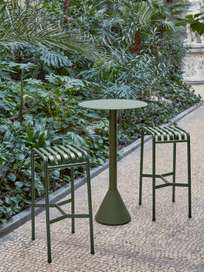 Palissade Cone Table  – Olive Green – Ø60