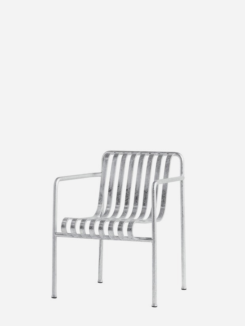 Palissade Dining Arm Chair - Galvanized