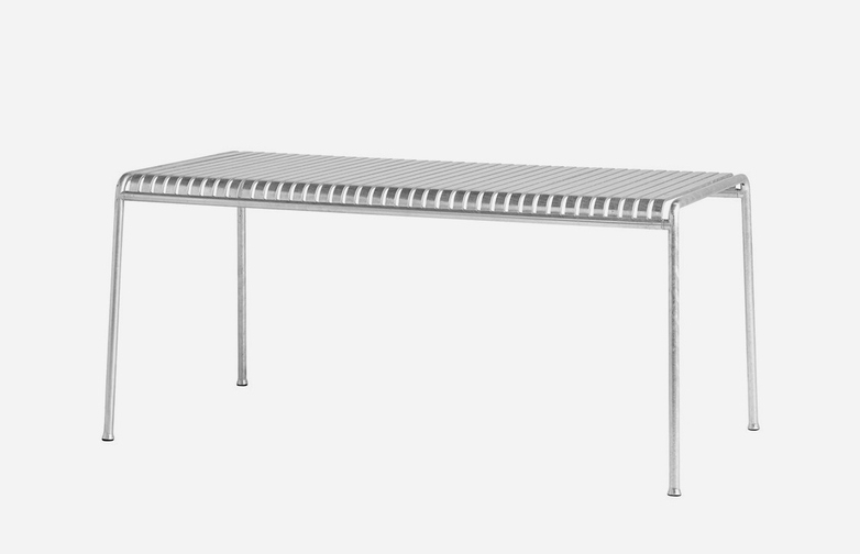 Palissade Table – 170 - Galvanized