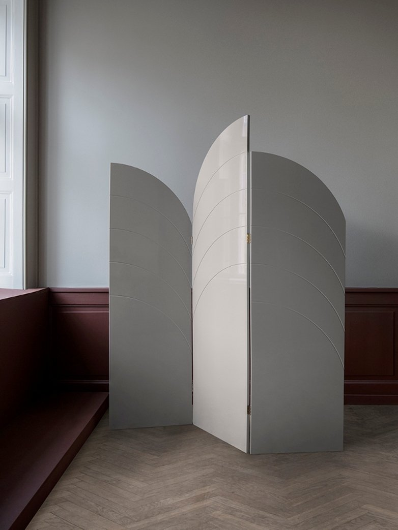 Unfold Room Divider – Grey