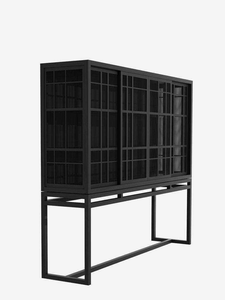 Burung Sideboard – 4 Sliding Doors