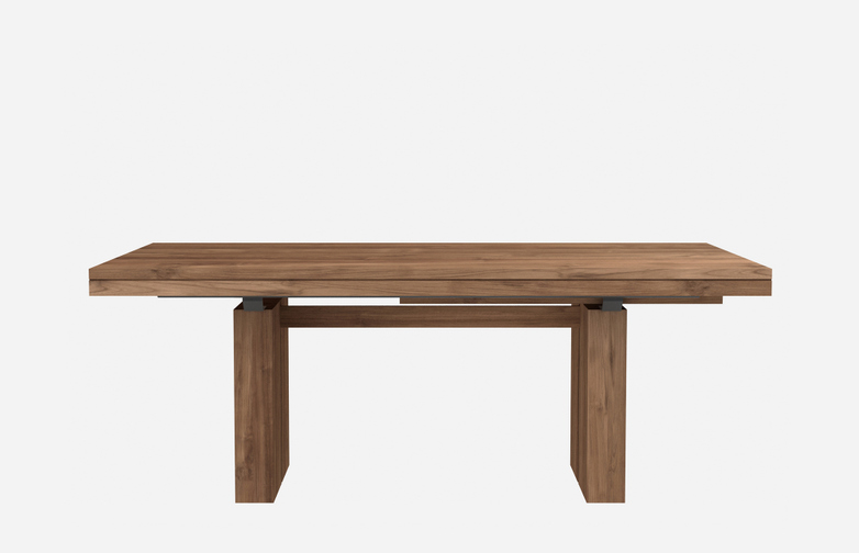Double Extendable Table – Teak