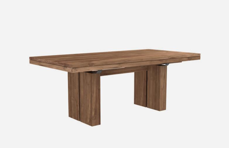 Double Extendable Table – Teak