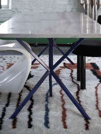 Rectangular Table – Klein Blue – Azul Verde
