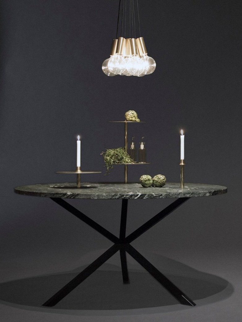 Candlestick with Tray