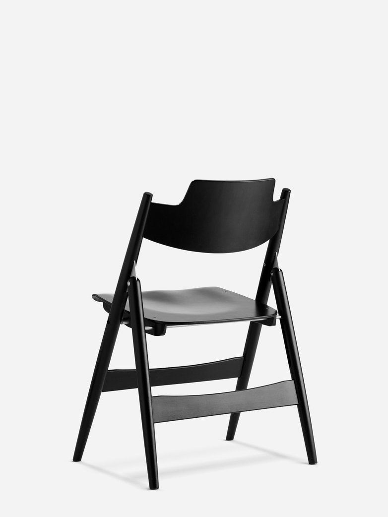 Eiermann SE18 Chair – Stained Black