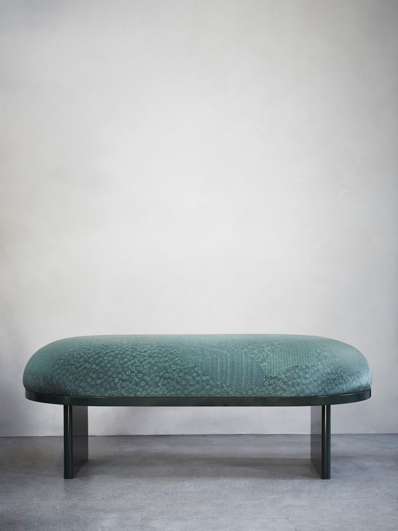 Anza Bench 160 – Cedar Green
