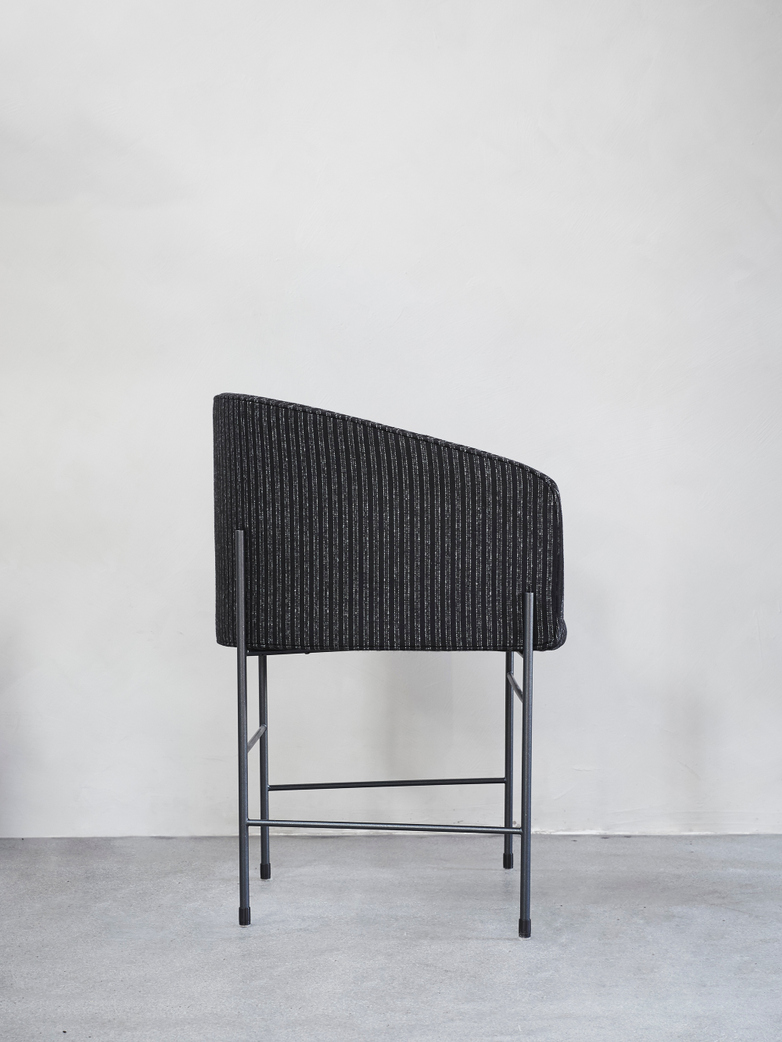 Covent Chair – Black Frame – Bowery Wool