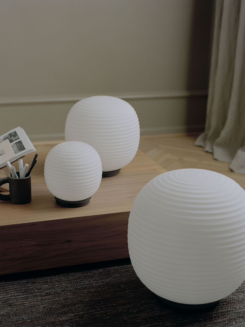 Lantern Globe Table Lamp