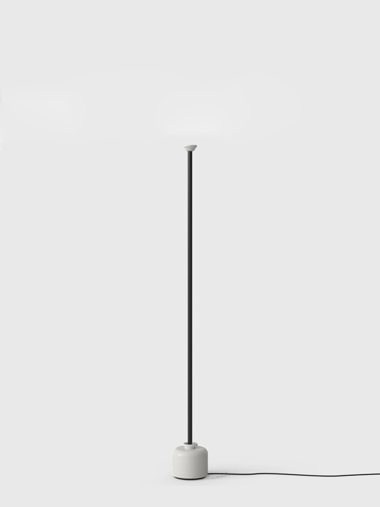 Model 1095 Floor Lamp – Black/White