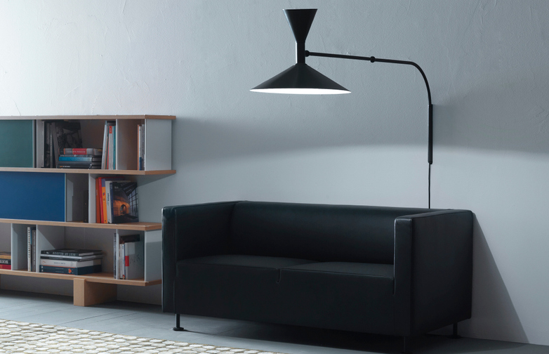 Lampe de Marseille Wall Lamp – Black