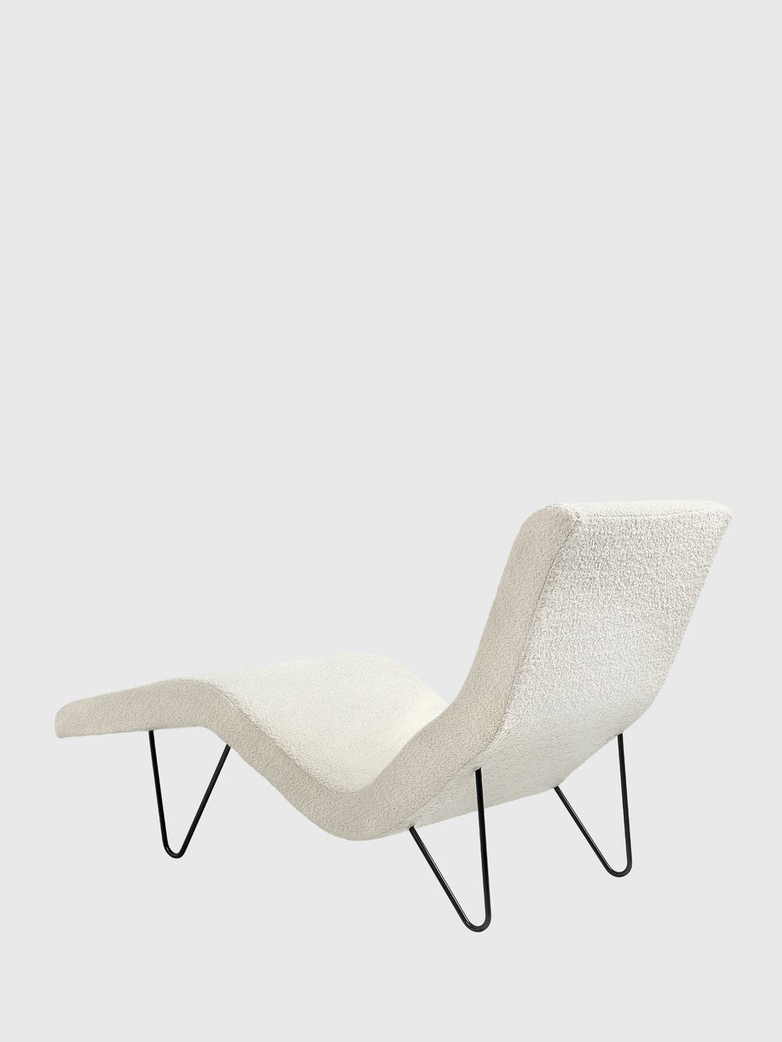 GMG Chaise Longue – Ivory