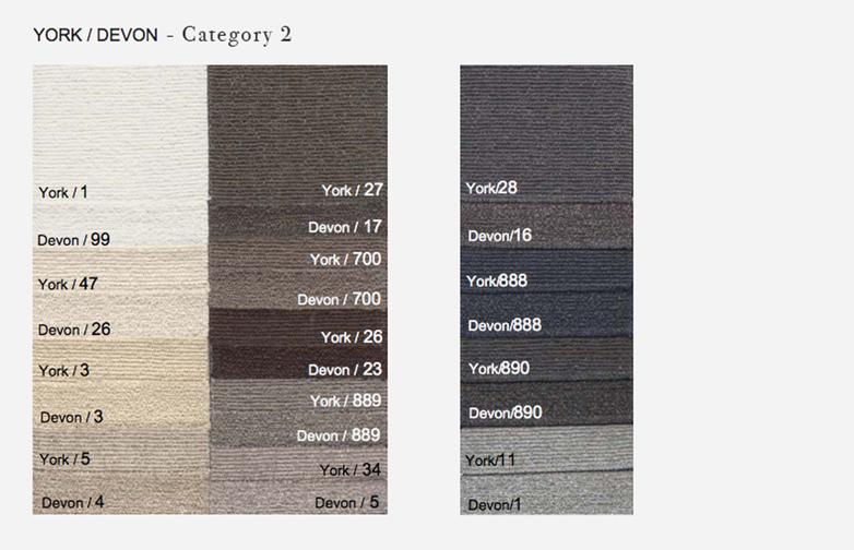 Element without Armrest - 125 x 185 - T2