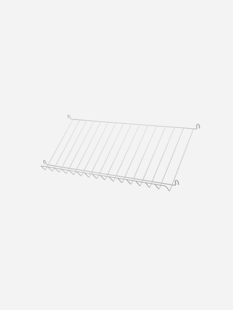 Wired Magazine Rack – White