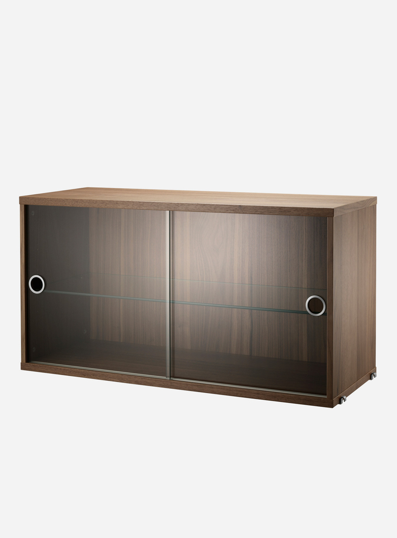 Display Cabinet – Walnut