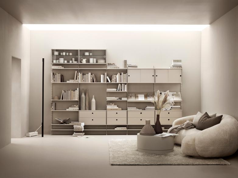 Display Cabinet – Beige