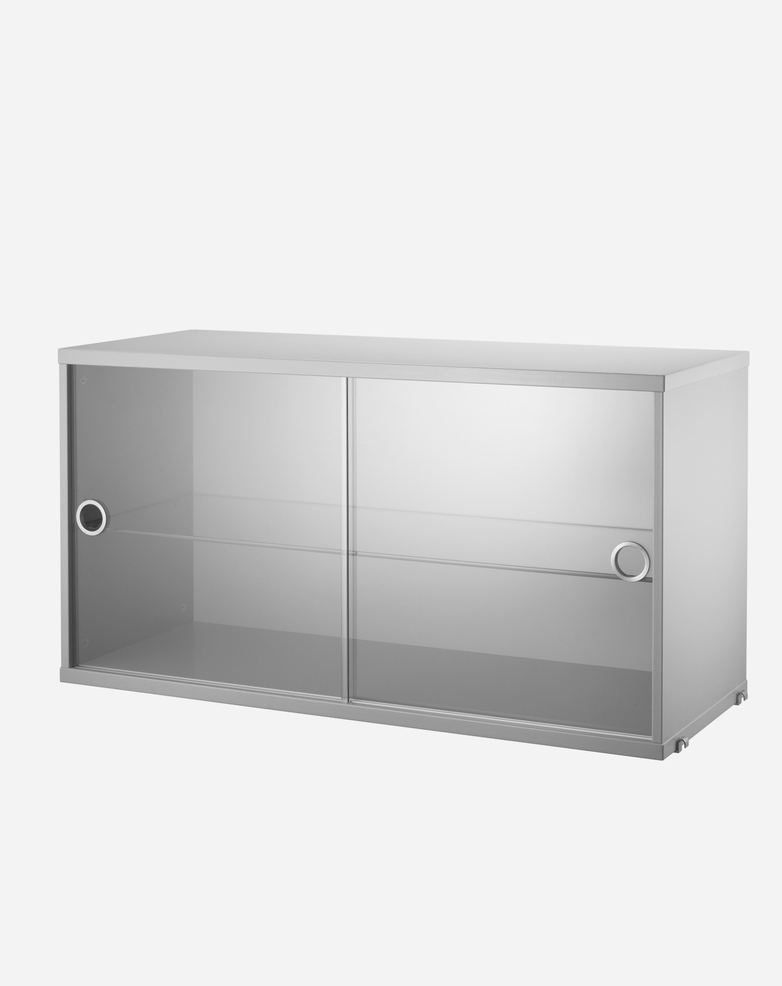 Display Cabinet – Grey