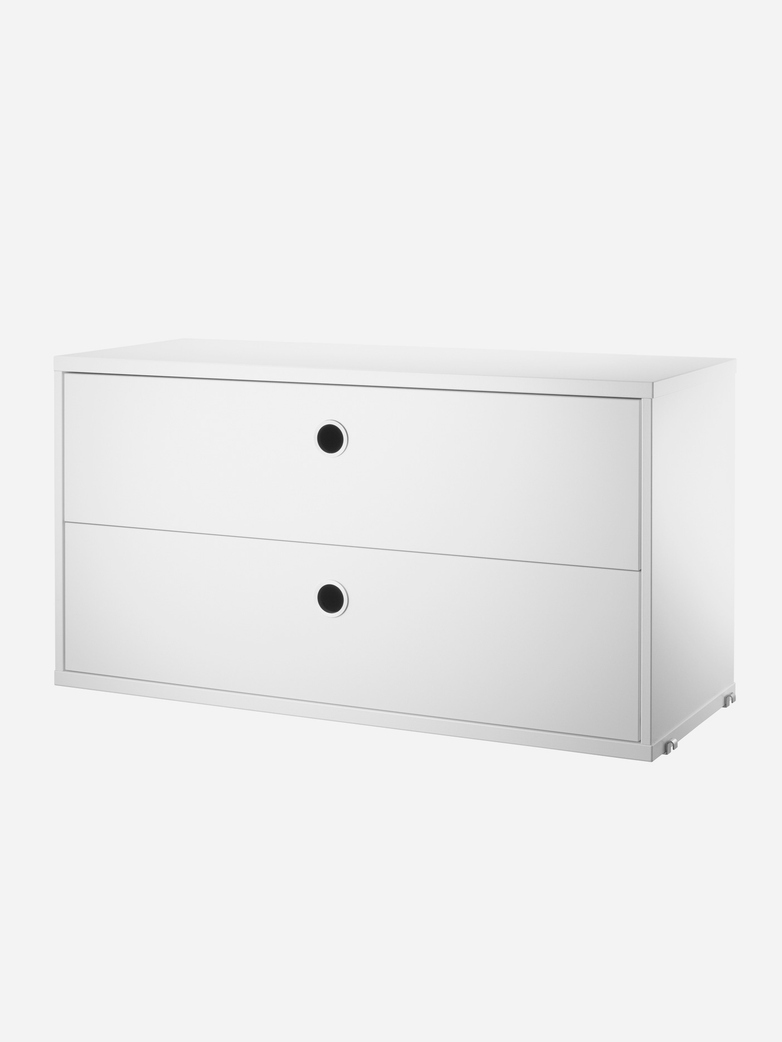 String – Chest Of Drawers – 78 x 30 – White