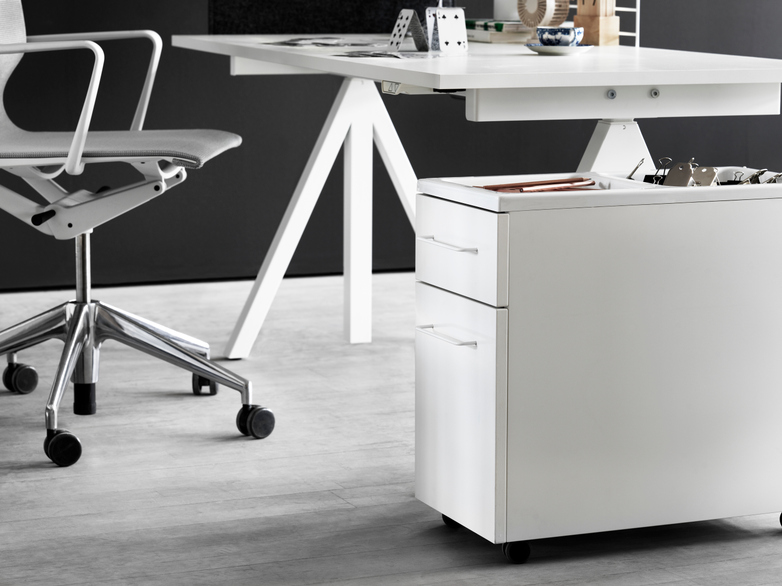 Mobile Storage Unit – White