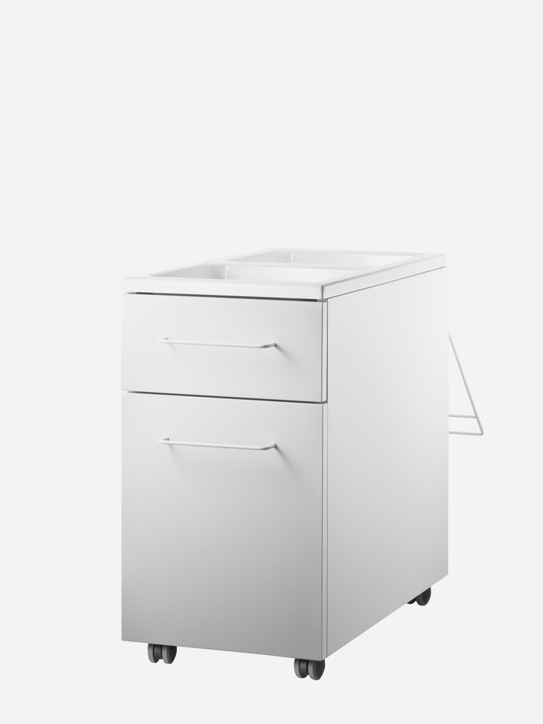 Mobile Storage Unit – White