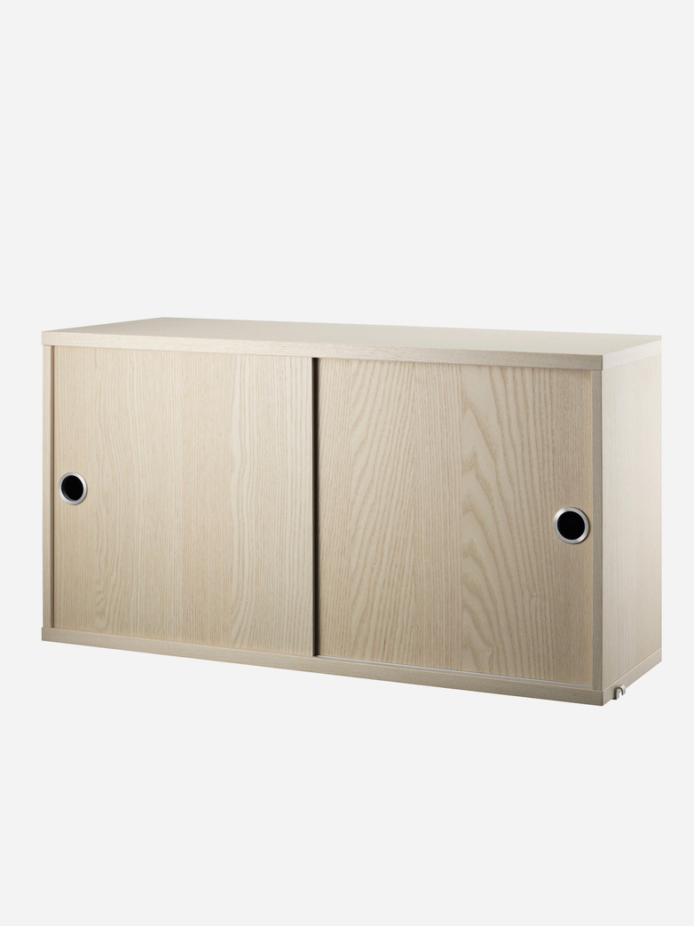 Cabinet With Sliding Doors – Ash