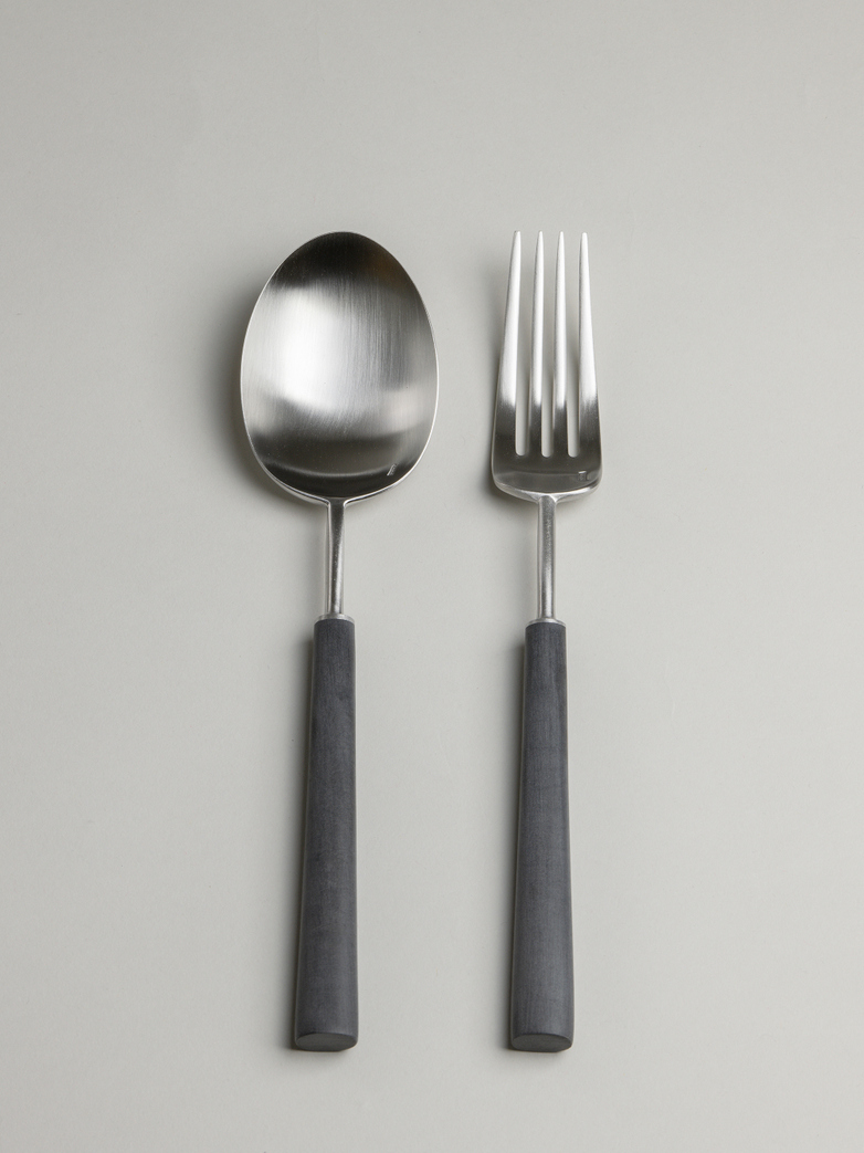 Ebony Serving Set