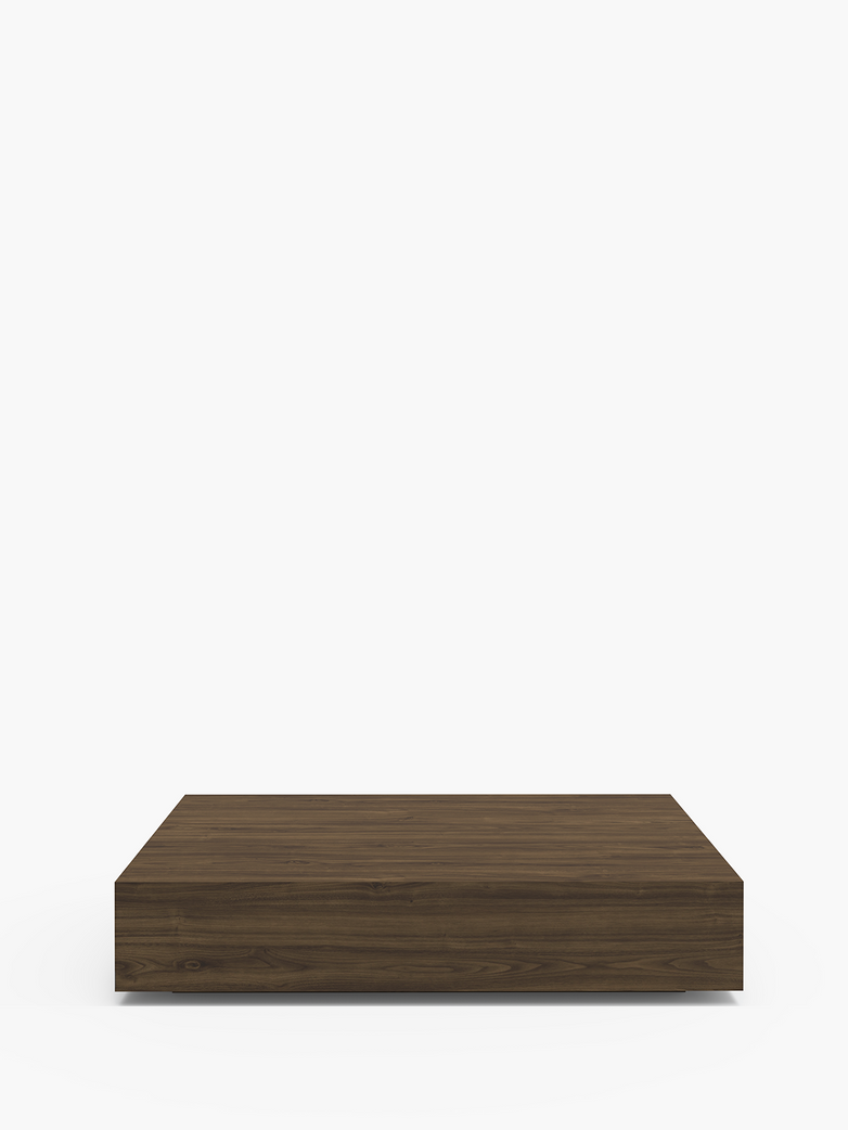 Mass Wide Coffee Table – Walnut